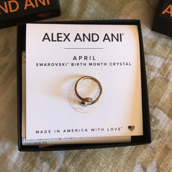 Alex and Ani Ring NWT